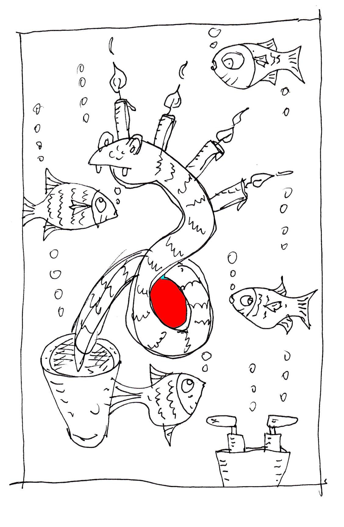 DA 33 Ein Seegurkenwurm