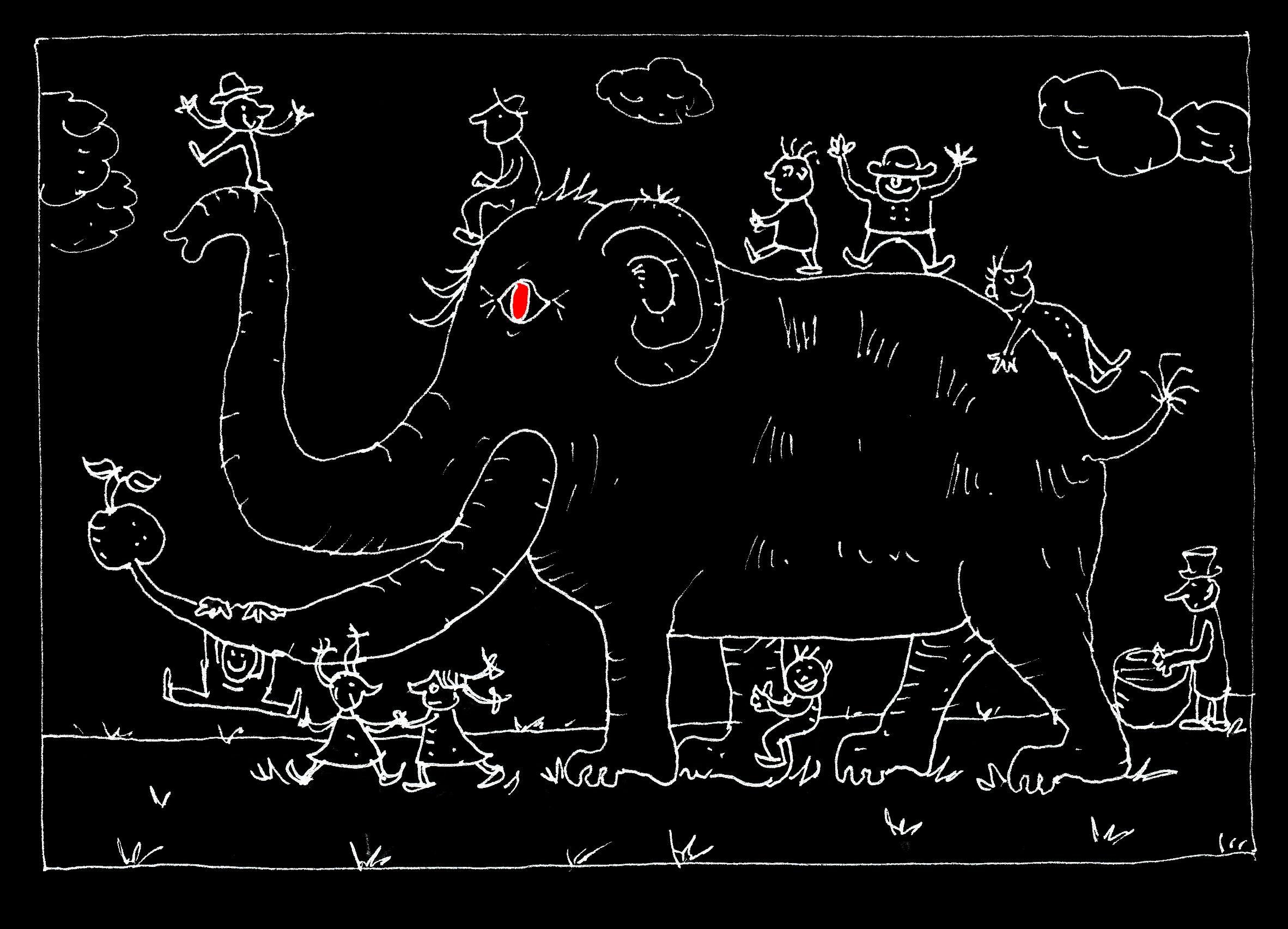 X Sch4 Das lebende Mastodon